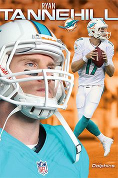 bf898f0e6 Ryan Tannehill SUPERSTAR Miami Dolphins NFL Football Wall Poster Miami  Dolphins Players