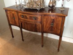 "Antique Sideboard, 60"" x 22 1/2"""
