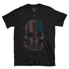 new york skull. Bad To The Bone, Good Old, Skull, York, Mens Tops, Fashion, Moda, Fasion, Fashion Illustrations