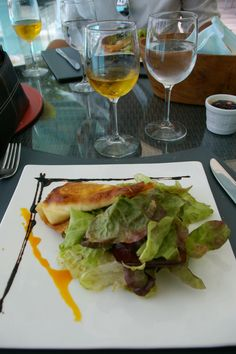 Salads in St. Barths are so delicious! Discover more wonderful restaurants at www.saintbarth.com and I'll show you my St. Barths insider tips. #stbarth #wimco #restaurant