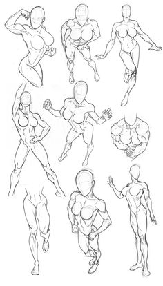 Sketchbook Figure Studies 2 by Bambs79.deviantart.com on @DeviantArt