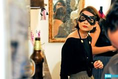 Chantal Chadwick in a batgirl mask, of course.
