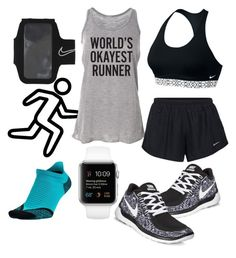 """""""ready?"""" by suzannekobb on Polyvore featuring NIKE"""