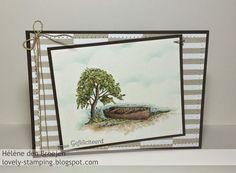 Stampin'Up! Moon lake, sweet dreams dsp, watercolor card by Hélène den Breejen, Onafhankelijk Stampin'Up! demonstratrice