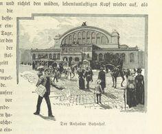 Berlin, Der Anhalter Bahnhof, 1894