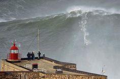Impresionante: surfear la ola más grande del mundo - canchallena.com