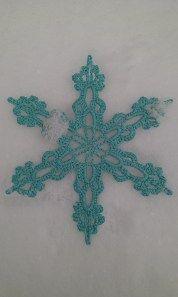 White witch snowflake crochet pattern