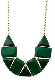 Bansri  Emerald Coperna Necklace