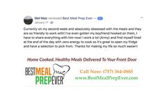 Virginia Beach Pre Made Meals Delivered - 5 Star Rating!