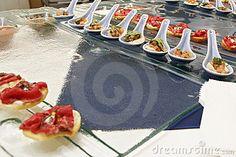 Gourmet canapes by Jrockar, via Dreamstime