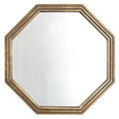 Gilded Octagon Mirror