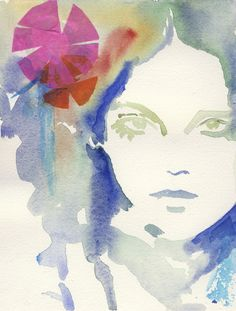 watercolour illustrations by Cate Parr
