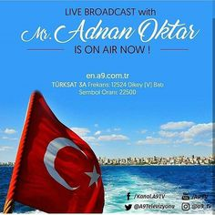 """Live broadcast with Mr Adnan Oktar is on air now  #tv📽📡en.a9.com.tr #islam #God #quran #Muslim #books #adnanoktar #istanbul #islamicquote #quoteoftheday #quote #love #Turkey #art #artistic #fashion #music #luxury #travel #nature #photoshoot  #photooftheday  #london #newyork  #friendship #christian #jews #eid #eidmubarak #eidadha"" by @harunyahya_a9. #capture #pictures #pic #exposure #photos #snapshot #picture #composition #pics #moment #focus #all_shots #color #foto #photograph #fotografia…"