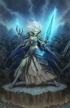 Frost Lich Jaina - Hearthstone: Heroes of Warcraft Wiki