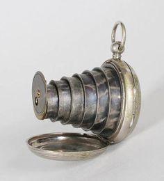 [ Victorian 1886 Spy Camera Pocket Watch ] —