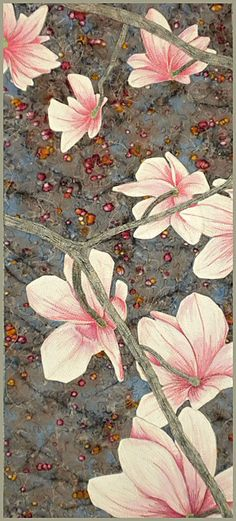 Fresh Magnolia quilt by Kate Themel