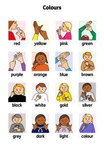 Colour signs