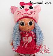 Ravelry: Amigurumi Cat Doll pattern by Havva Ünlü
