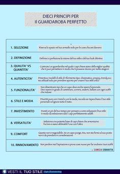 I Principi Del Guardaroba Perfetto | Camiciaecravatta
