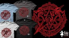 My Fate/stay night design in Qwertee : Limited Edition Cheap Daily T Shirts