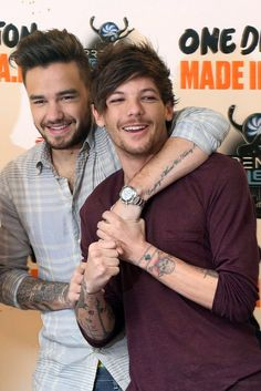 Liam payne and louis tomlinson!