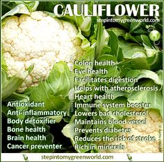 Califlower.  for great motivation, health and fitness tips, check us out at: www.betterbodyfitnessbootcamps.com Follow us on Facebook at: www.facebook.com/betterbodyfitnessbootcamps