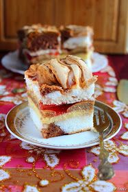 Zachwycające, pięknie prezentujące się i przede wszystkim pyszne warstwowe ciasto. Sprawdzi się na każdej większej okazji, na świątecznym, ...
