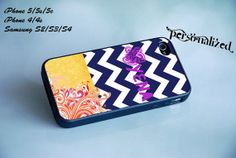 Chevron Art Personalized Your Name Case for iPhone by FullCash, $14.40 #Personalized #iPhoneCase #GalaxyCase #Chevron #Art Case #GalaxyCase