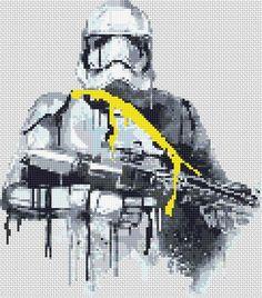 Star Wars Cross Stitch pattern Stormtrooper BB-8 Boba Fett