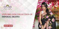 Explore a wide range of designer #sarees.