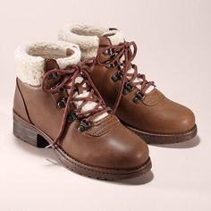 Cushion Walk® Heidi Hiking Boot. Hit the trails in supportive hiking boots that don't sacrifice style for warmth.