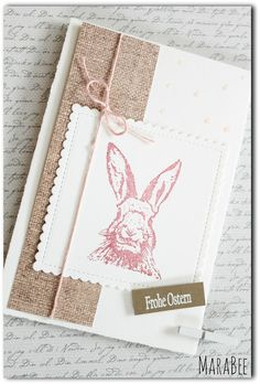 MaraBee´s Welt Source by The post MaraBee´s Welt appeared first on Schonheit. Diy Paper, Paper Crafts, Karten Diy, Scrapbook Paper, Scrapbooking, Butterfly Cards, Card Tags, Easter Bunny, Stampin Up