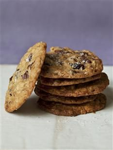 Barefoot Contessa - Recipes - Salty Oatmeal Chocolate Chunk Cookies