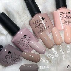 """Nails Picture end result for uncovered shellac - result - """" Shellac Nail Colors, Gel Polish Colors, Shellac Nails, Nail Manicure, Nail Polish, Cnd Colours, Fancy Nails, Pretty Nails, Gel Nail Designs"""