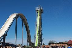 World's Tallest Water Slide and Why You Won't Fall Off…a great article explaining the relationship between gravity, kinetic energy, and potential energy from Live Science