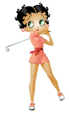 ANYONE FOR GOLF....BETTY