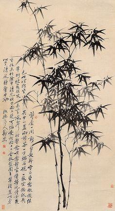 清-郑板桥-竹   相片擁有者 China Online Museum - Chinese Art Galleries