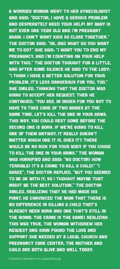 A Doctor's Wisdom