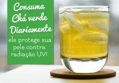 Pele mais bonita e protegida! #greentea #chaverde #tea
