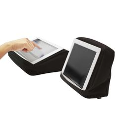 Bosign | Black HiTech 2 TabletPillow | Cushion for iPad or Tablet | www.homearama.co.uk  #Bosign #TabletPillow #iPadPillow #TechAccessory #Functional #Design