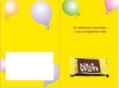 ¡Sorprenda a su equipo con las tarjetas de caramelo de chocolate! Bonbon, Messages, Candy Cards