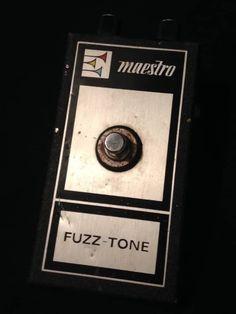 Maestro Fuzz-Tone FZ-1B 1968 Black