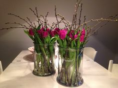 Wonderful Free Tulpen Strategies Among probably the most beautiful and elegant varieties of plants, we cautiously picked the correspo Easter Flower Arrangements, Easter Flowers, Christmas Flowers, Diy Flowers, Spring Flowers, Flower Decorations, Floral Arrangements, Deco Floral, Arte Floral