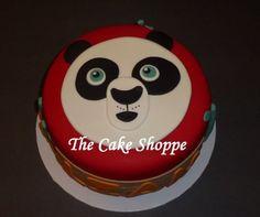 Kung Fu Panda Birthday Cake cakepins.com
