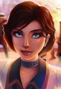 Elizabeth fan art from Bioshock I made : D #gaming #games #gamer #videogames #videogame #anime #video #Funny #xbox #nintendo #TVGM #surprise