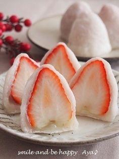お餅で柔らか♪ 白苺大福 by Aya♪さん | レシピブログ - 料理ブログの ...
