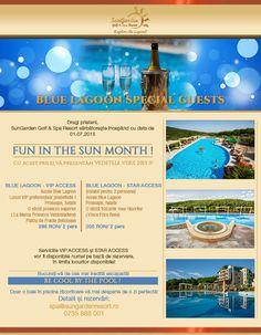 Blue Lagoon Vip & Star Access - Sun Garden Resort Sun Garden, Summer Events, Blue Lagoon, Special Guest, Resort Spa, Vip, Celebrations, Relax, Golf