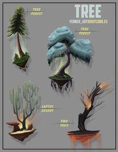 ArtStation - TREES, YENNER RODRIGUEZ