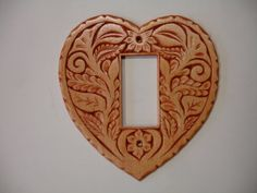 All heart Electric switch or outlet cover plate by creativemind44, $28.00