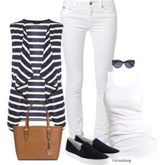 No. 560 - Summer day by hbhamburg on Polyvore featuring polyvore, fashion, style, Dorothy Perkins, Soaked in Luxury, Kaporal, Tod's, MICHAEL Michael Kors and 7 For All Mankind